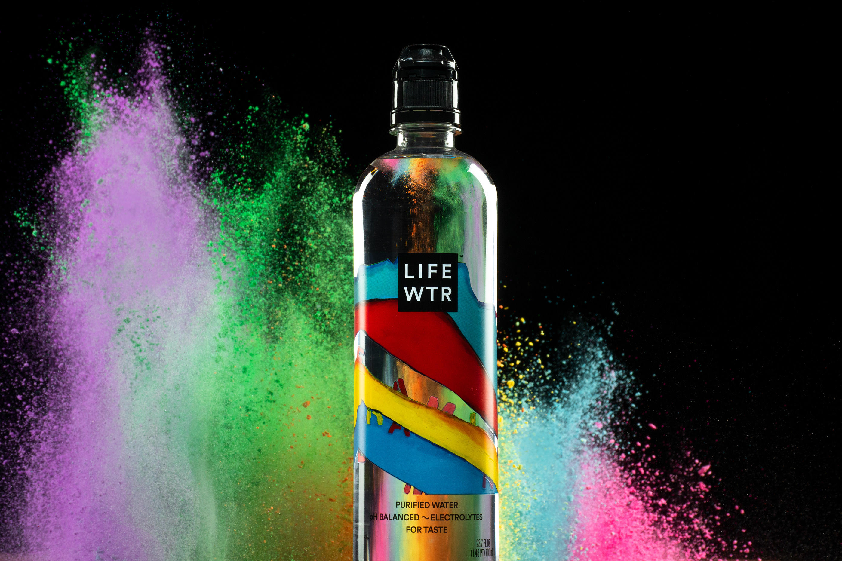LifeWtr Elements Advertising